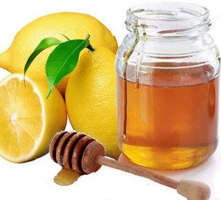 Маска с лимонным соком и медом