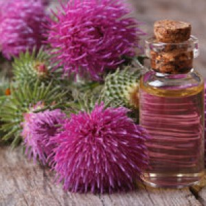 Репейное масло для волос в бане