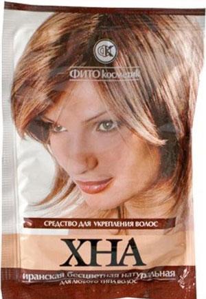 Хна для укрепления волос