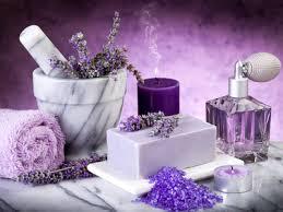 Использование лаванды в парфюмерии