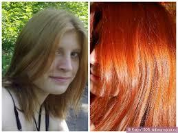 Хна на светлые волосы