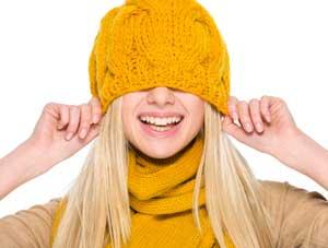 Неудобная шапка- причина головной боли