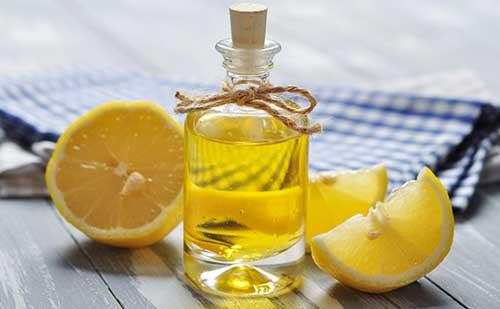 Добавляем лимон в репейное масло