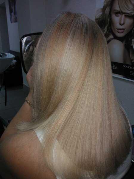 Пропадание цвета волос