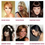 Как подобрать челку на средние волосы