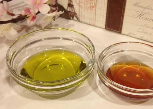 Используем оливковое масло