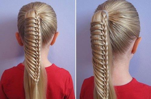 Укладываем волосы девочкам