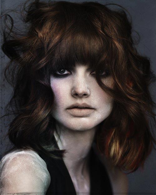 Прямая селка для вьющихся волос