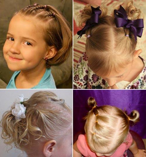 Варианты для коротких волос