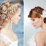 Очаровательные греческие прически на свадьбу