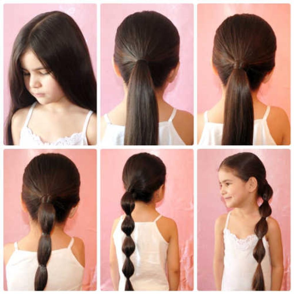 Прически за 5 минут на средние волосы для девочек