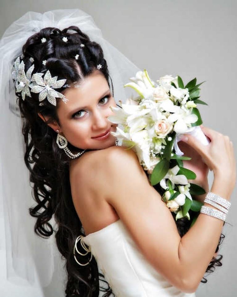 Фото невест свадебные прически