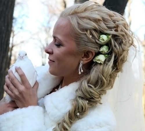 Косички на свадьбу