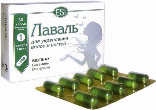 Витаминки для укрепления волос