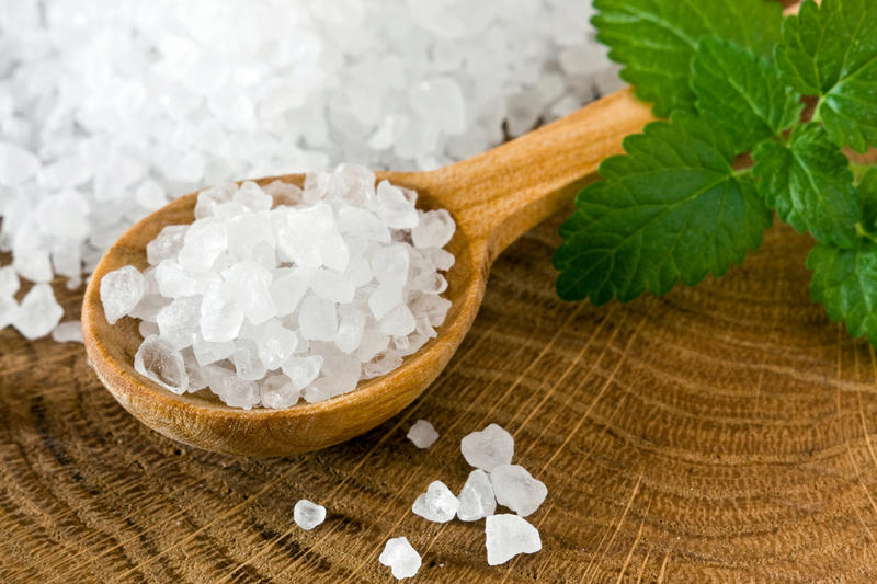 Использование соли для волос