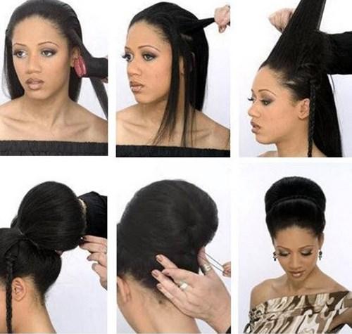 Бабетта на короткие волосы прическа фото