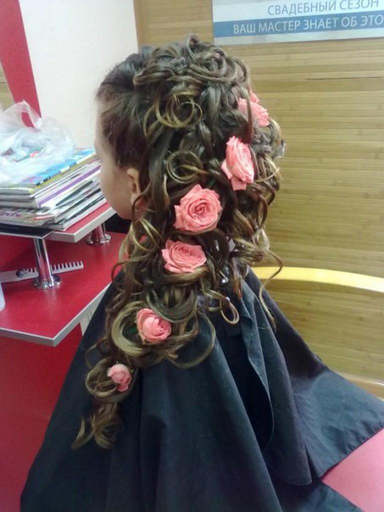 Детские причёски на выпускной в детском саду ютуб