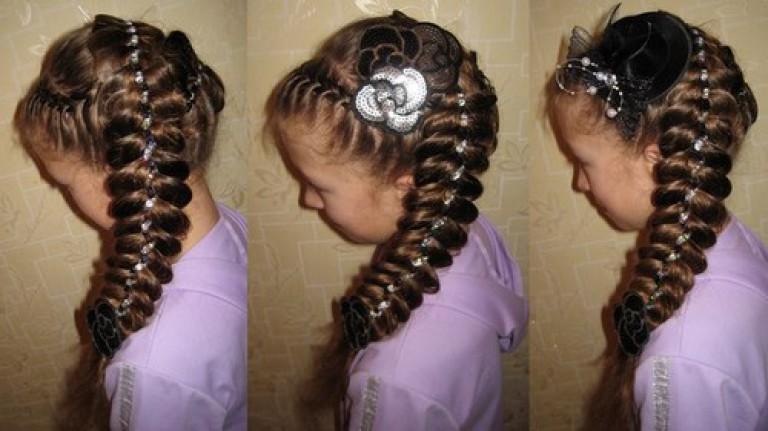 коса фото на длинные волосы фото