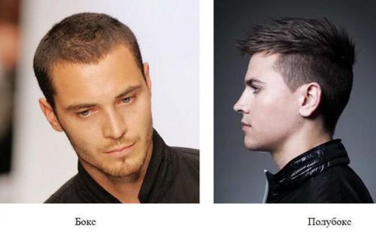 причёска полубокс мужская с челкой фото