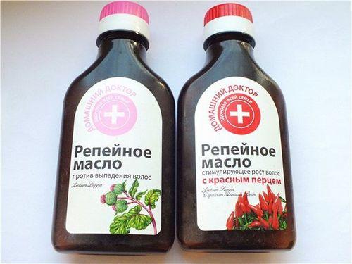 Репейное масло с красным перцем - секреты применения