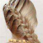 Плетение кос на средние волосы или как создать привлекательные укладки на каждый день