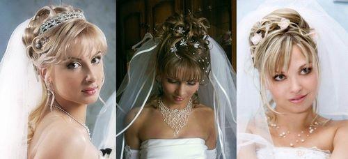 Челки на свадьбу