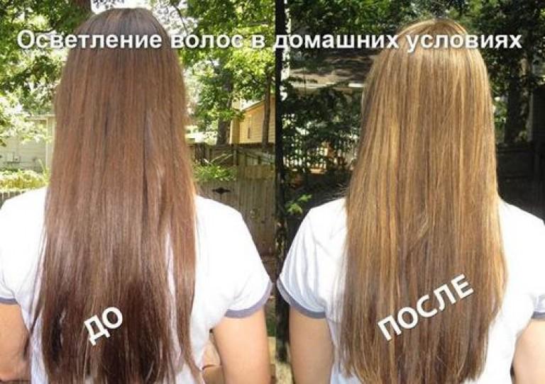 Осветлить темных крашеных волос в домашних условиях